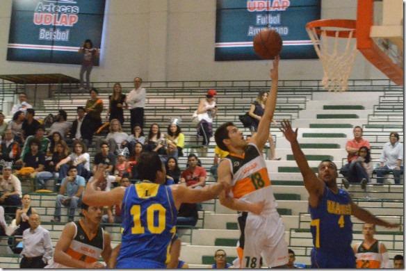 Aztecas exhiben el mejor baloncesto colegial