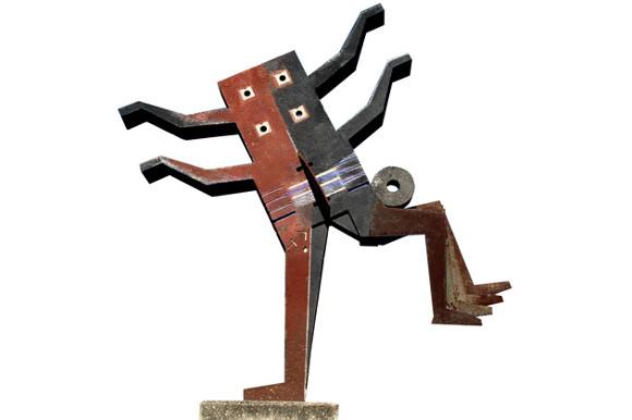 El Jugador: una escultura en movimiento