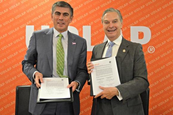 UDLAP y General Electric trabajarán en beneficio de la educación