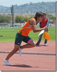 Aztecas de atletismo dominaron de principio a final