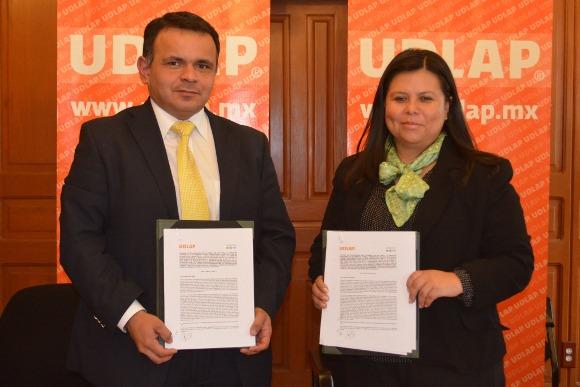 UDLAP y Luk Puebla signan convenio