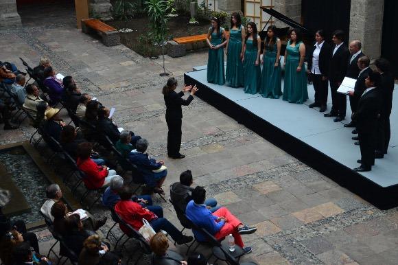 Se presentó con gran éxito el Coro de Cámara de la UDLAP en el Museo José Luis Cuevas en la Ciudad de México