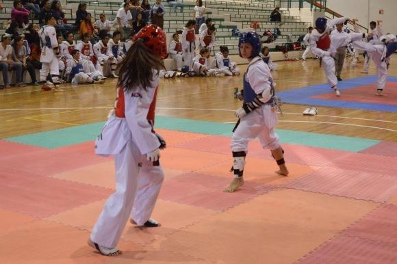 Aguerridos los taekwondoines Azteca