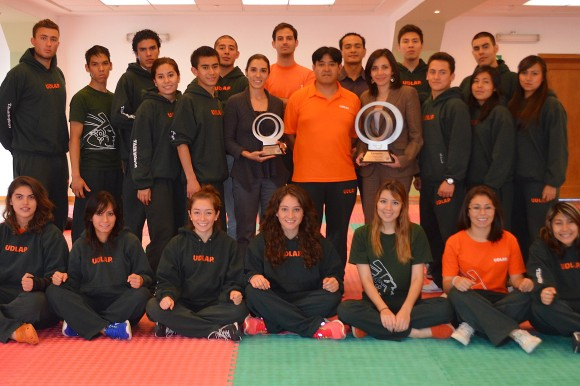 Aztecas: 1 y 2 en taekwondo nacional