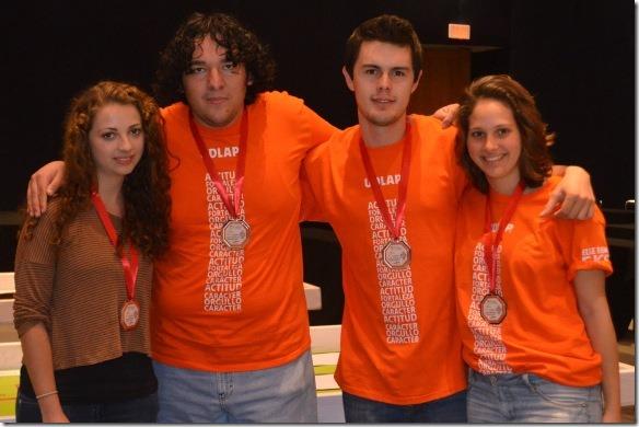 Estudiantes de la UDLAP ganan concurso estatal de robótica