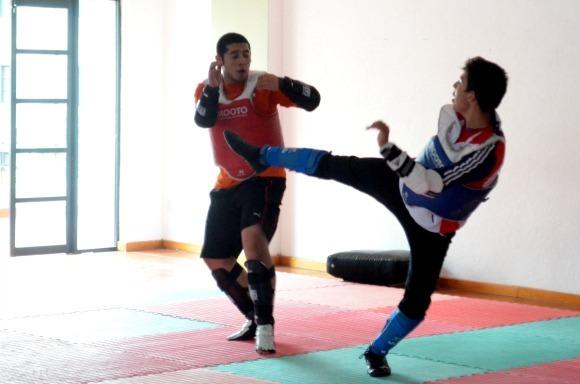 Azteca por la Copa del Mundo de tae kwon do