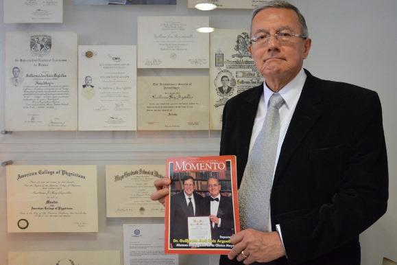 Guillermo Ruiz Argüelles, catedrático UDLAP reconocido internacionalmente