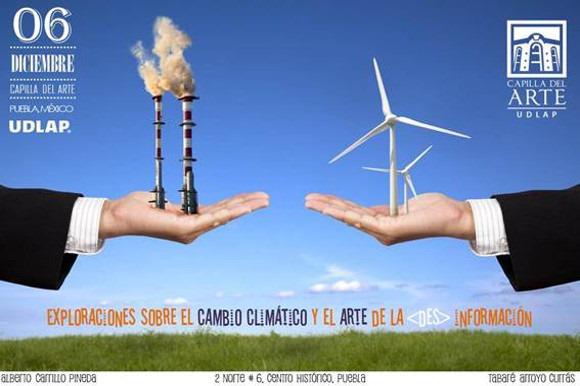 Discutirán sobre los mitos y realidades del cambio climático en Capilla del Arte UDLAP