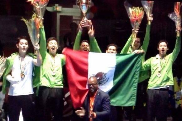 Azteca en TK5 de taekwondo es Campeón del Mundo