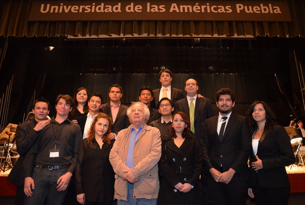 Reúne UDLAP a los mejores directores jóvenes de orquesta en México