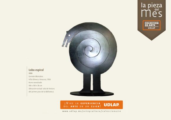 La Pieza del mes de la Colección de Arte UDLAP : «Lobo Espiral»