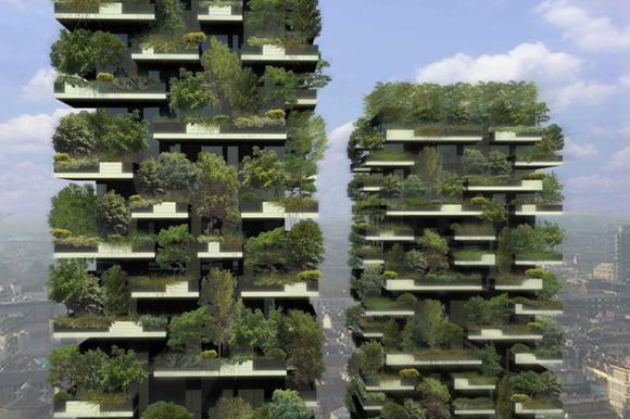 Bosques verticales, la nueva arquitectura verde