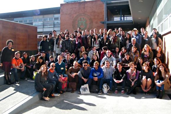 Galería de imágenes de la recepción de estudiantes internacionales – P'14