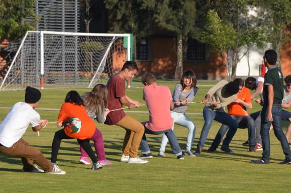 Galería de imágenes de  las actividades de integración con estudiantes internacionales