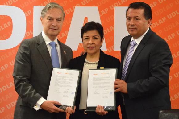 UDLAP y Sección 23 del SNTE firman convenio de colaboración