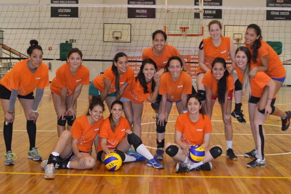 ¡Estamos listas! Aztecas de voleibol