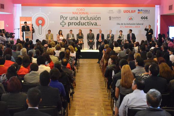 """Inauguración del Foro """"Por una inclusión + productiva"""""""