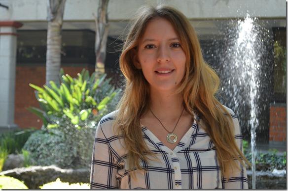 Estudiante UDLAP distinguida como embajadora de la OCDE