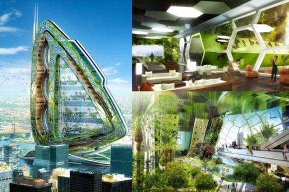 Arquitectura Biomimética, la arquitectura inspirada en la naturaleza