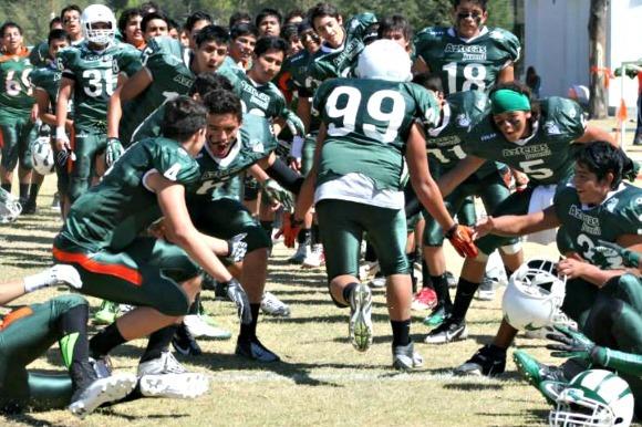 Calendario de Aztecas Juvenil A en la temporada 2014 FADEMAC