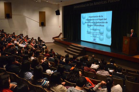 La UDLAP lleva a cabo el XXV Congreso Nacional de Actuaría y IV Congreso de Física y Matemáticas