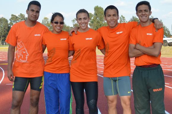 Atletismo Azteca a dos pruebas del nacional de la CONADEIP