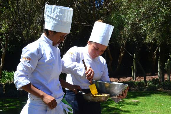 Práctica de Cocina con el Chef Rodrigo Pineda