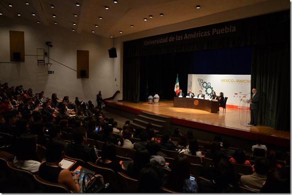 """Concluye el XXIV Congreso Nacional de Derecho de la UDLAP """"México en Marcha""""."""