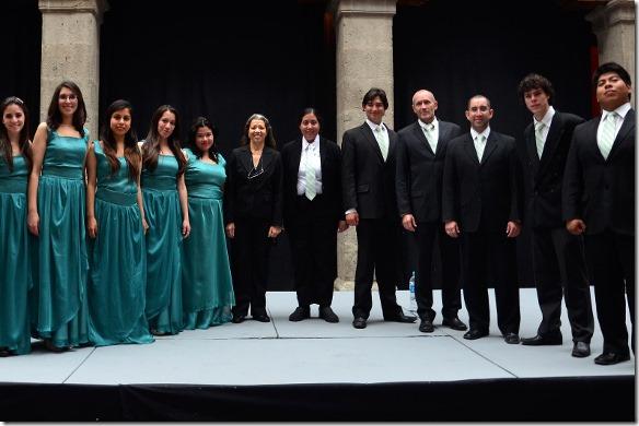 Coro de Cámara UDLAP se presenta en Museo José Luis Cuevas durante ciclo de conciertos de Semana Santa