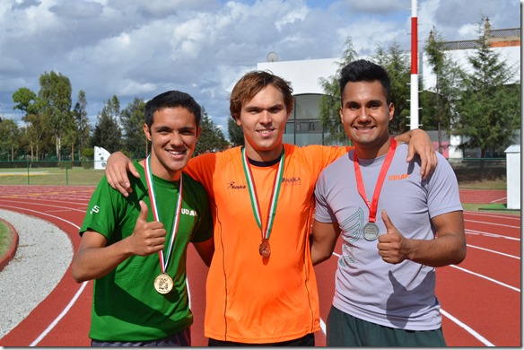 Aztecas dieron medallas para Puebla en la Olimpiada Nacional 2014