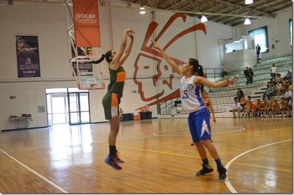 La UDLAP recibe a selecciones mexicanas de baloncesto femenil