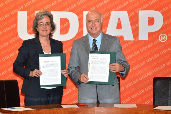 UDLAP firma convenio con la Comisión Nacional del Agua