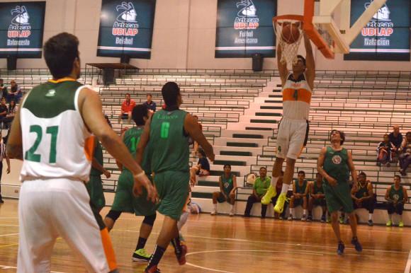 UDLAP organiza cuadrangular de baloncesto varonil