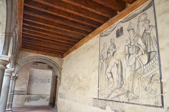 Convento Franciscano abre sus puertas y da a conocer murales restaurados del XVI