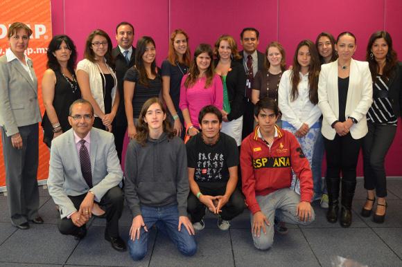 Estudiantes del Colegio Humboldt realizaron prácticas pre profesionales en la UDLAP