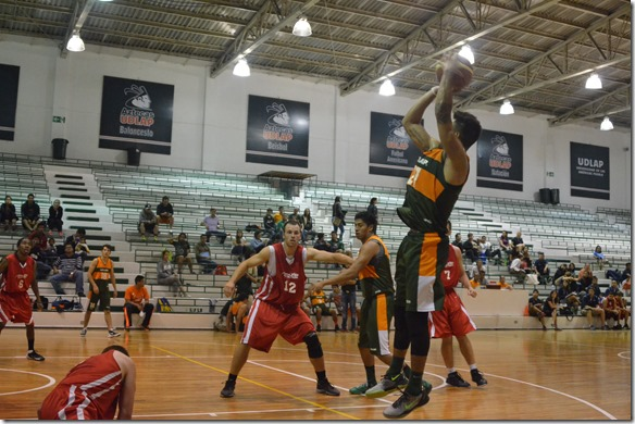 Calendario de la temporada de Aztecas Baloncesto  Varonil UDLAP  2014 – 2015
