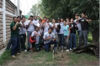 Aztecas UDLAP hacen acciones altruistas