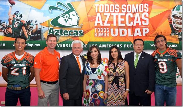 presentacion aztecas 2014