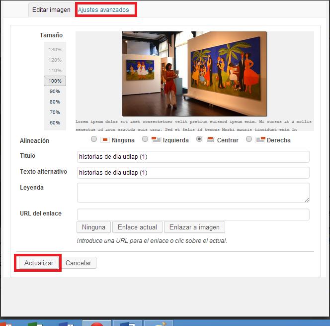 menu imagen