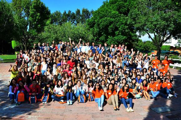 ¡Bienvenidos estudiantes internacionales!