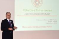 Rector de la UDLAP dicta ponencia en Seminario Nacional de IMEF.