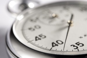 Close-Up Of Stop Watch