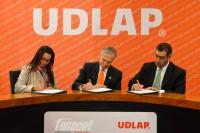 UDLAP y FONACOT firman convenio de colaboración