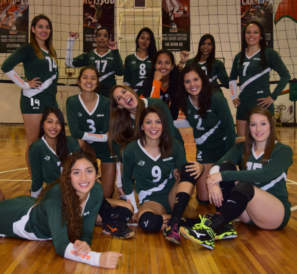 voleibol femenil UDLAP 2014 - 2