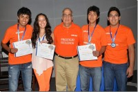 Estudiantes de la UDLAP destacan en Torneo Estatal de Robótica
