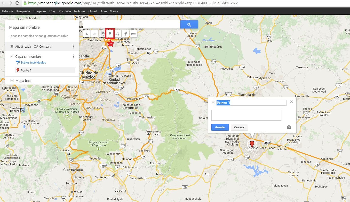 Cómo personalizar tus propios mapas en Google Maps on