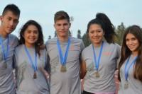Arrasó el atletismo Azteca en su primera prueba
