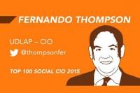 Director General de TI de la UDLAP, dentro de los 100 CIOs más sociales en Twitter