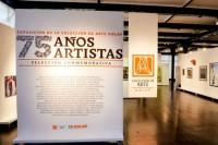 75 años, 75 artistas: Selección conmemorativa