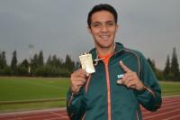 Azteca, oro y récord nacional en la Olimpiada